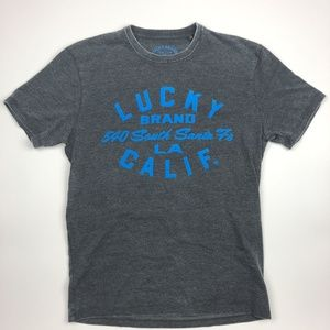 Lucky Brand Men's T-shirt Size M Gray SH23